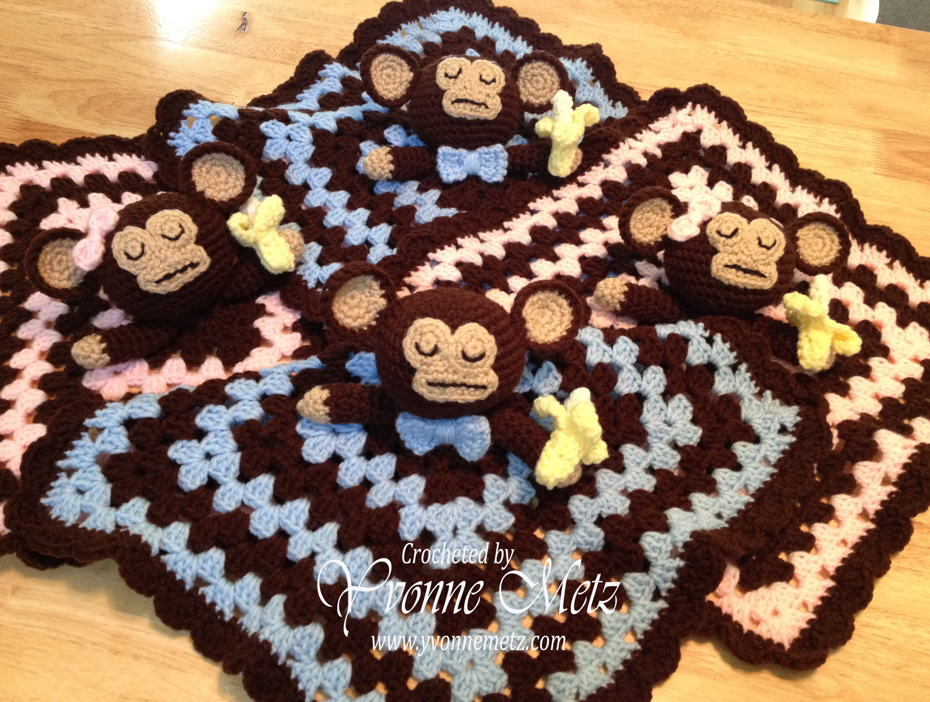 Crocheted Loveys Yvonne Metz