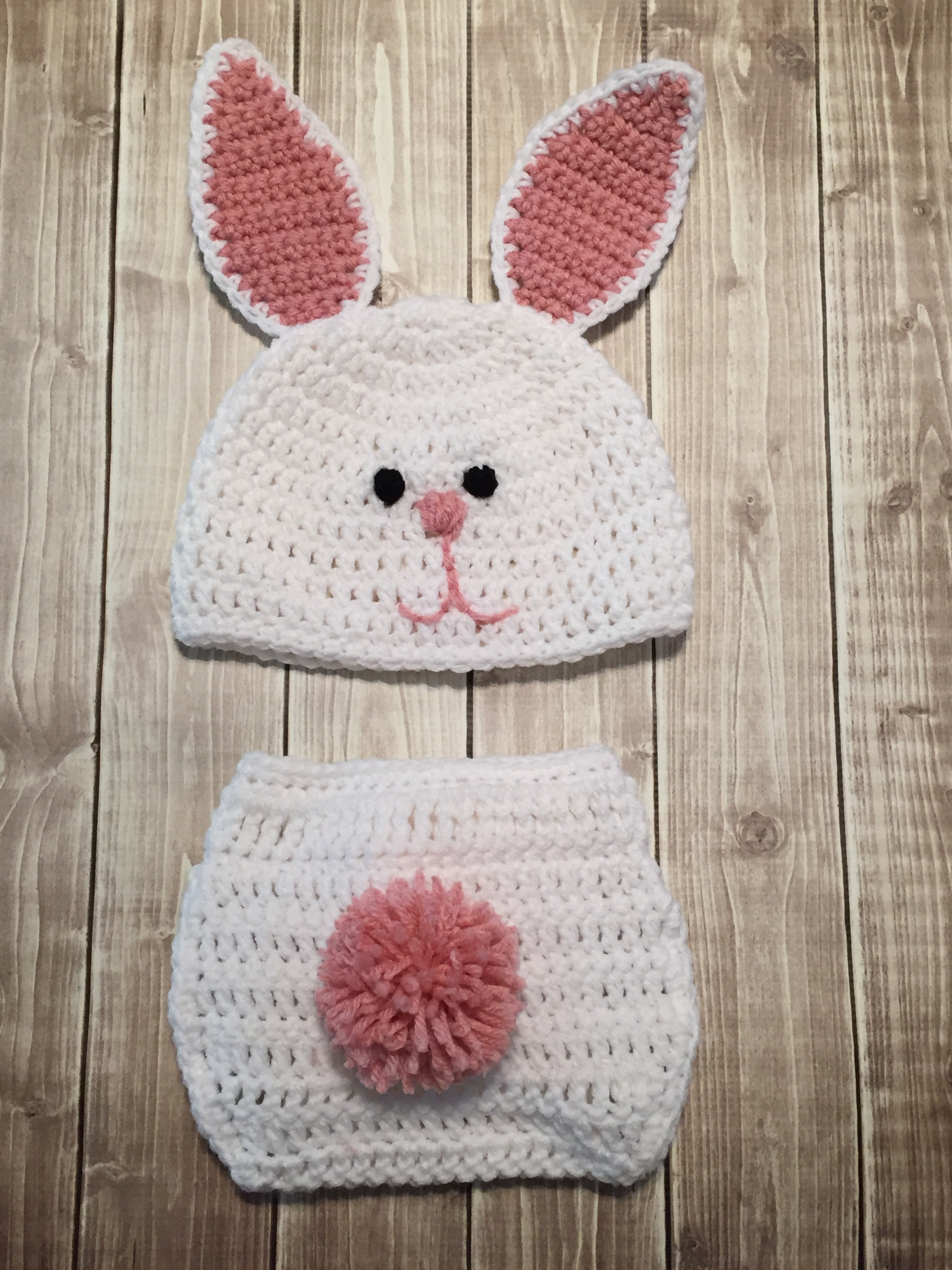 Bunny Diaper Cover and Tutu Set – Yvonne Metz