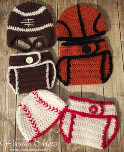 Sports Diaper Covers Front