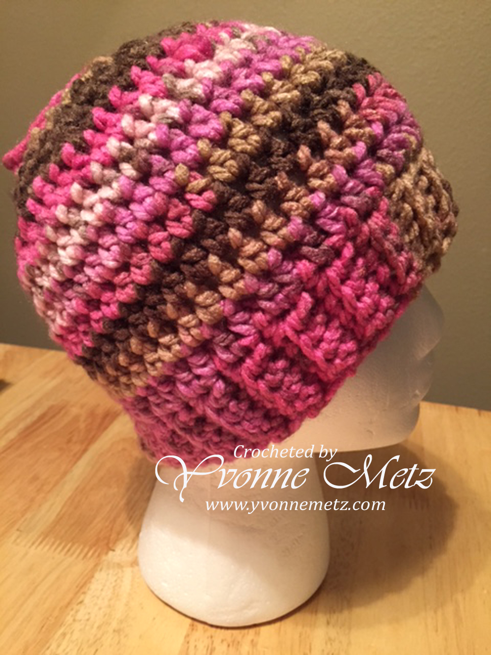 Crocheted Hats Yvonne Metz